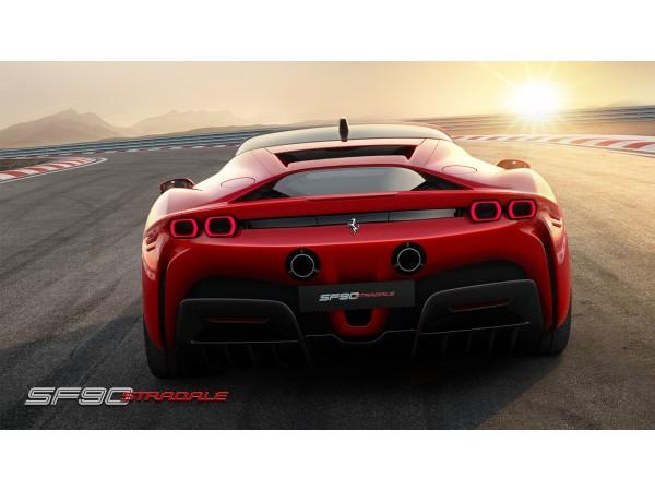Ferrari SF90 Stradale ซูเปอร์คาร์สายพันธ์ใหม่ของ  เฟอร์รารี่ม้าลำพองที่ทรงพลัง
