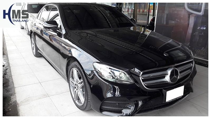 ติด Screen Mirror + USB Multimedia บน Mercedes Benz E350e W213