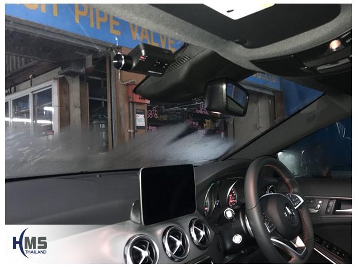20180530 Mercedes Benz GLA250_W156_DVR_Thinkware_F800_Pro_front,ติดกล้องติดรถยนต์ Mercedes Benz GLA250
