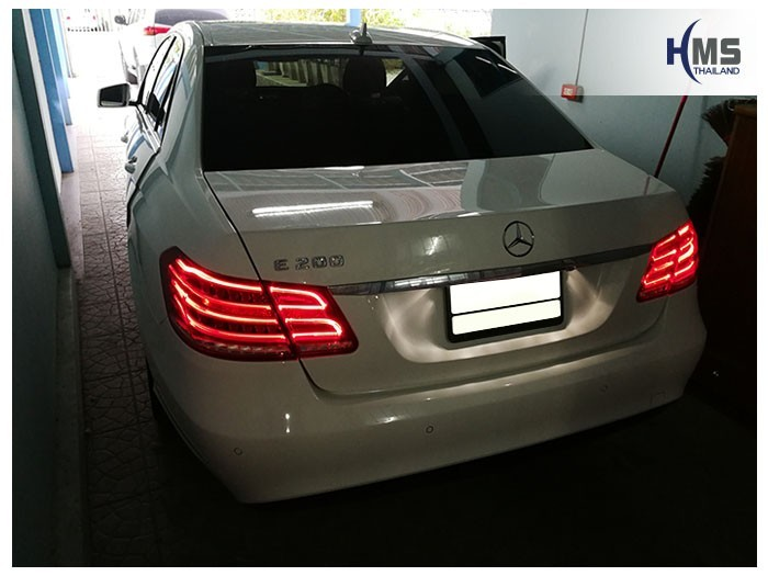 20180830 Mercedes Benz E200_W204_back,ภาพท้ายรถ Mercedes Benz E200 W212