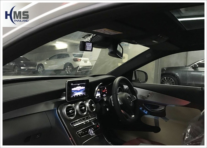 20171201 Mercedes Benz C350e w222 DVR Thinkware x330_2