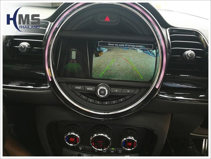 Mini Cooper Clubman, รีวิว, ทดสอบ, Rear camera,จอถอยหลัง,กล้องมองหลัง,กล้องถอยหลัง,หมุนตามพวงมาลัย,PAS,Park assistant system, carplay , android auto, screen mirroring, ภาพมือถือขึ้นจอรถยนต์ ,กล้องบันทึกเหตุการณ์ ,กล้องบันทึก, กล้องติดหน้ารถ, กล้องวีดีโอ, ,DVR, Driving Video recorder, thinkware, Blackvue, ,carcamkorea ,กล้องวีดีโอ, ,test drive
