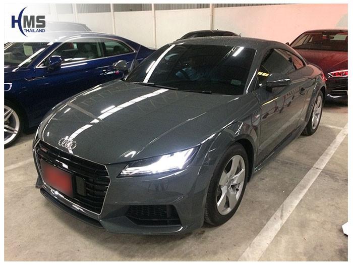 20180924 Audi TT front,ภาพหน้ารถ Audi TT 45TFSI quattro