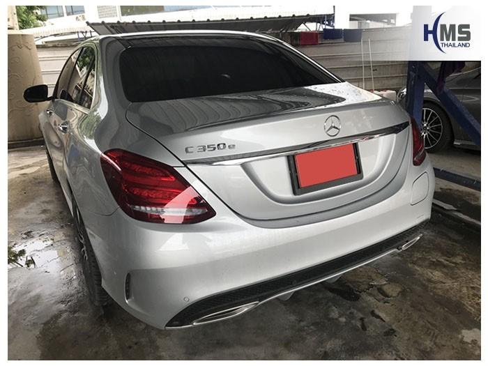 20180807 Mercedes Benz C350e_W205_back,Benz, Mercedes ,เบนซ์ ,เมอร์เซเดส, ซาลูน,ราคาเบนซ์,facelift ,Brabus ,AMG ,Bluetec ,Hybrid,ไฮบริด