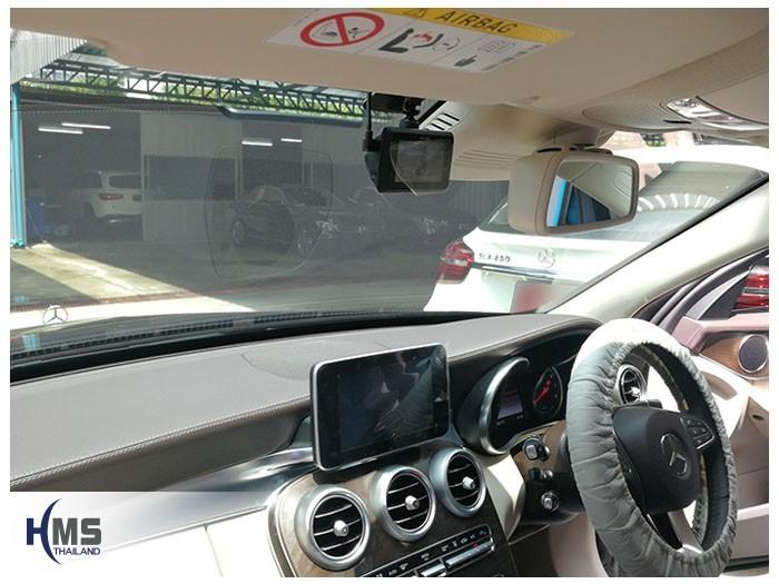 20180512 Mercedes Benz C350e W205_DVR_Mio_MiVue_786_Wifi_installation