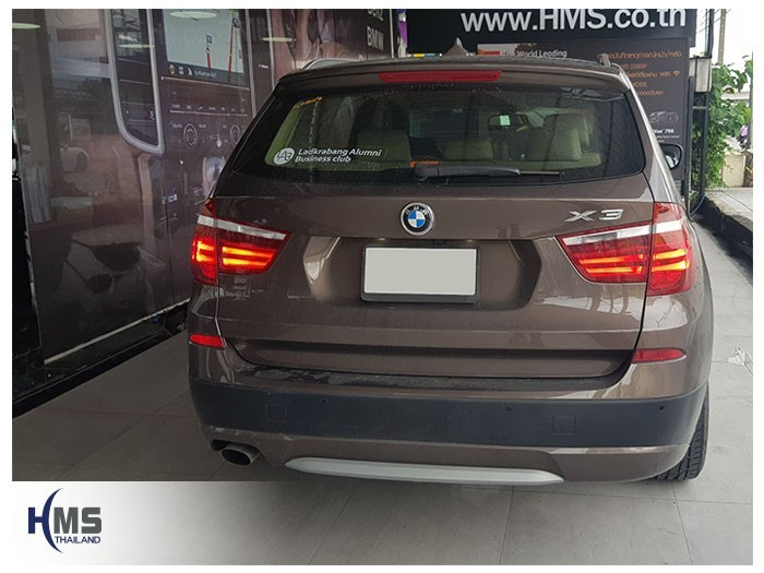 20180829 BMW X3 back,ภาพท้ายรถ BMW X3 Xdrive20d,20180829 BMW X3 back