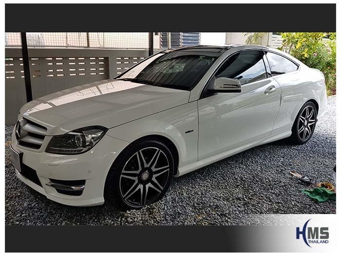 20180620 Mercedes Benz C180_W204_Side,ติดตั้งอุปกรณ์บน Mercedes Benz C180 204