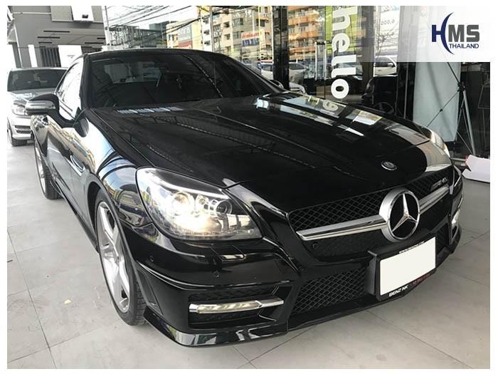 20180630 Mercedes Benz SLK200_W172_front,ติดตั้งอุปกรณ์บน Mercedes Benz SLK200 W172