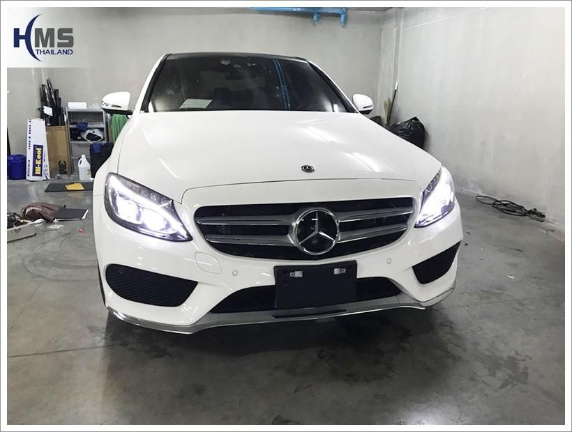 20171201 Mercedes Benz C350e w222 DVR Thinkware x330_Front