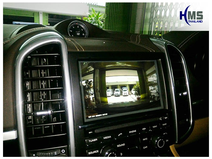 Porsche,Cayenne,PCM3.1,DVR,Dash cam,Driving Video Recorder,กล้องบันทึก,กล้องบันทึกเหตุการณ์,กล้องติดหน้ารถ,Porsche OEM,inCarBite,Porsche Monitor