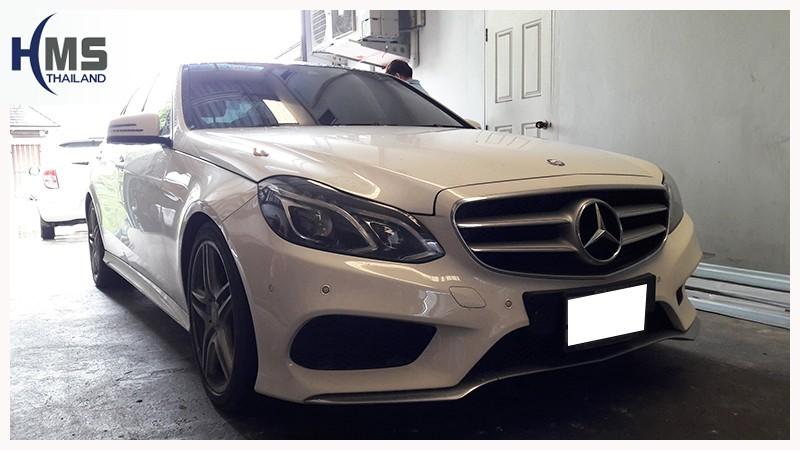 20180717 Mercedes Benz E200 W212,ติด Car wifi และ กล้องถอย บน Mercedes Benz E200 W212