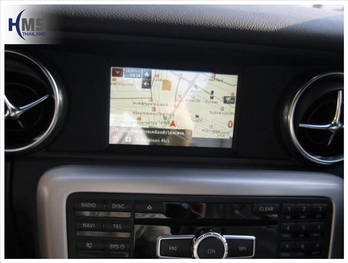กล่องแผนที่นำทาง Mercedes Benz SLK200