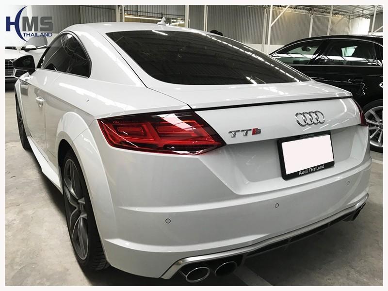 20180726 Audi TTS_back,Audi Thailand,รีวิว, ทดสอบ,Rear camera,จอถอยหลัง,กล้องมองหลัง,กล้องถอยหลัง,หมุนตามพวงมาลัย,PAS,Park assistant system,