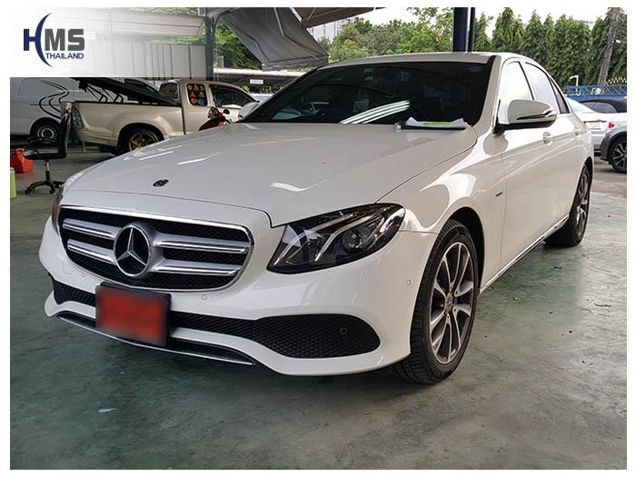 20180531 Mercedes Benz E350e_W213_front,ติดตั้งทีวีดิจิตอล