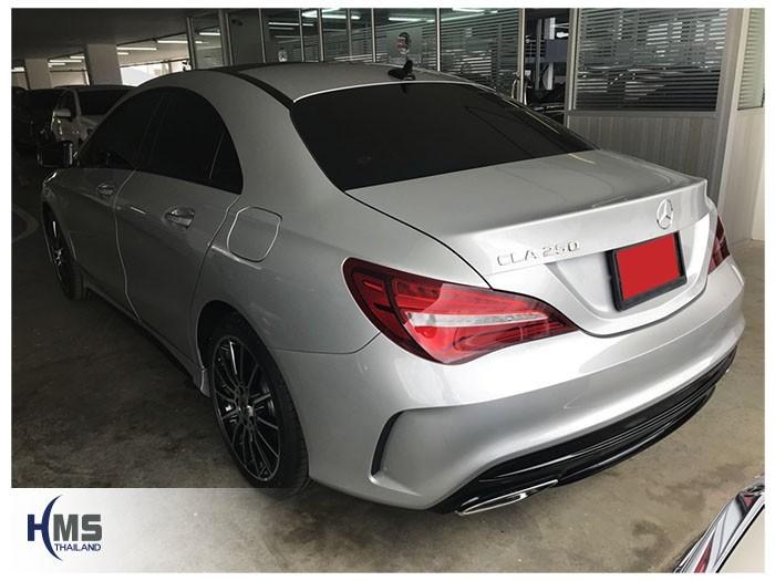 20180824 Mercedes Benz CLA250_C117_back,ติดกล้องติดรถยนต์บนรถ Mercedes Benz CLA250 C117