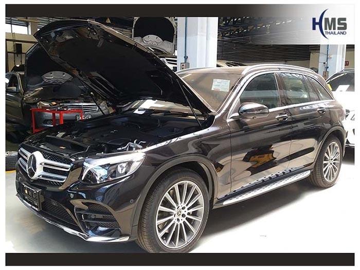 20180619 Mercedes Benz GLC250d_W253_front,ติดทีวีรถยนต์ บน Mercedes Benz GLC250d W253