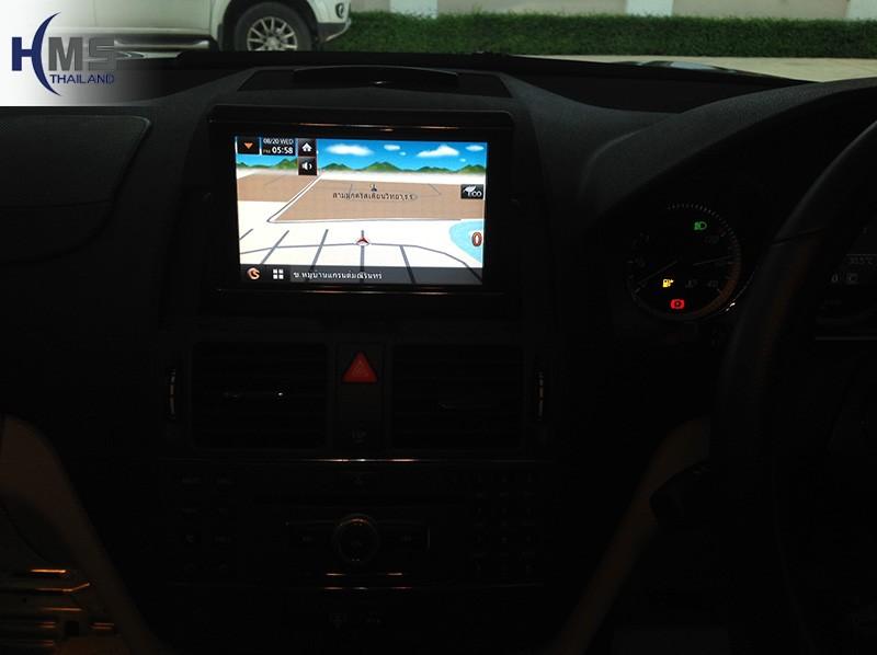 แผนที่ speedNavi,C250 Navigation, ติดเนวี C250, ติดแผนที่นำทาง Benz C250