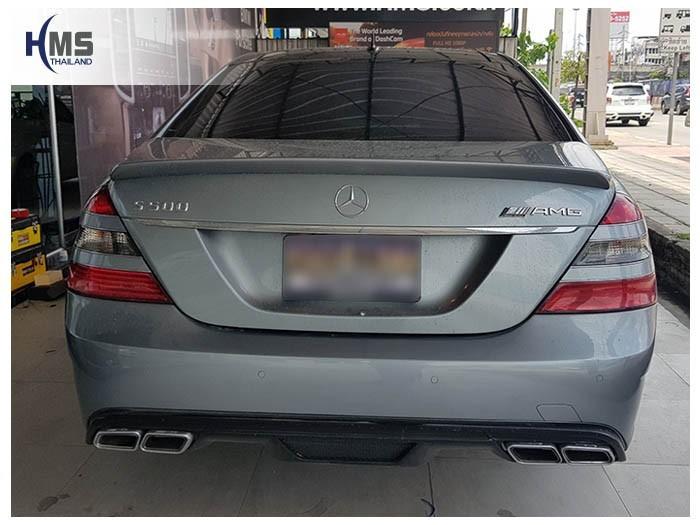 20180905 Mercedes Benz S500e_W221_back,ภาพท้ายรถ Mercedes Benz S500 W221