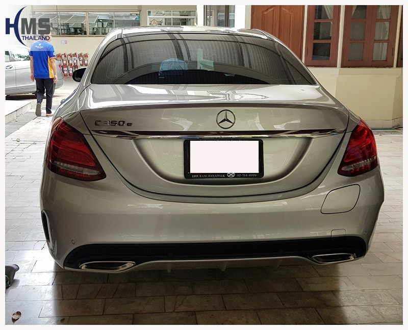 20180706 Mercedes Benz C350e W205_back,Benz, Mercedes ,เบนซ์ ,เมอร์เซเดส, ซาลูน,ราคาเบนซ์,facelift ,Brabus ,AMG ,Bluetec ,Hybrid,ไฮบริด