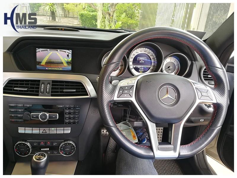 20181009 กล้องถอยหลัง Mercedes C180