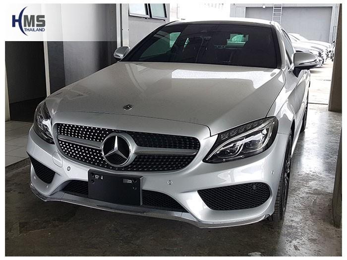 20180809 Mercedes Benz C250_W205_front,ติดกล้องติดรถยนต์ บน Mercedes Benz C250 Coupe C205