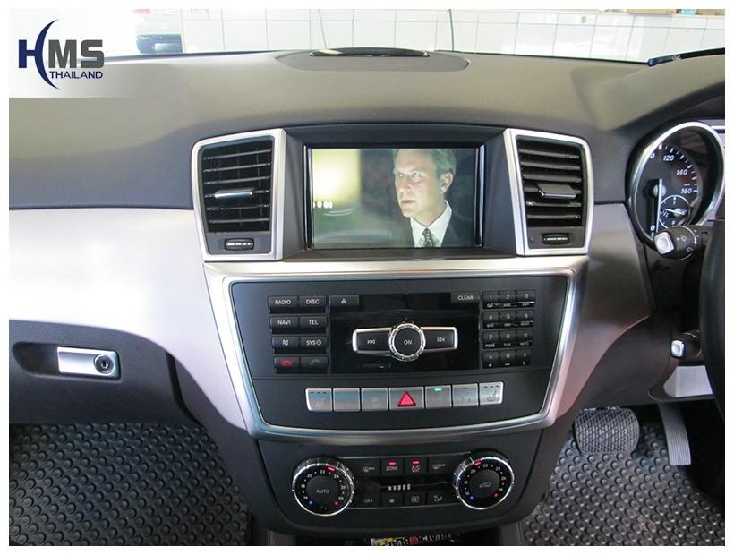 ทีวีจูนเนอร์ เบนซ์ ML250, ML250 TV Tuner, Digital TV, ติดทีวี ML250