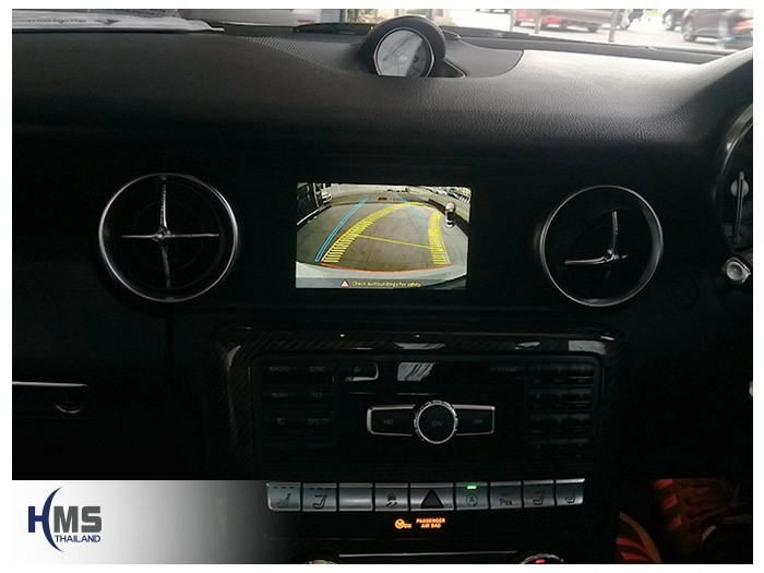 20180619 Mercedes Benz SLK200_W172_Rear camera_view,Rear camera,จอถอยหลัง,กล้องมองหลัง,กล้องถอยหลัง,หมุนตามพวงมาลัย,PAS,Park assistant system