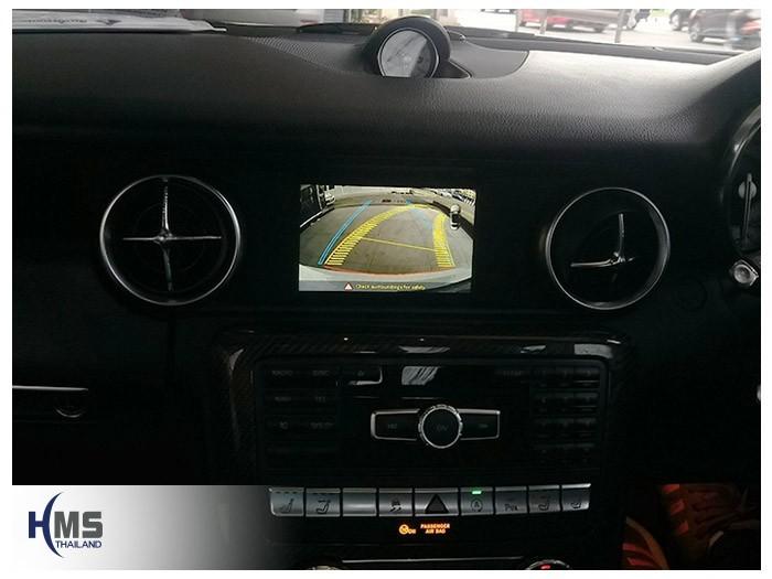 20180619 Mercedes Benz SLK200_W172_Rear camera_view,Rear camera,จอถอยหลัง,กล้องมองหลัง,กล้องถอยหลัง,หมุนตามพวงมาลัย,PAS,Park assistant system