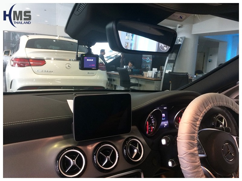 20181016 Mercedes Benz CLA250_C117_DVR_MiVue_786_Wifi_Screen