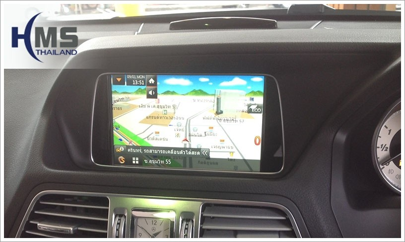 e200 แผนที่นำทาง,benz e200 โปรแกรมนำทาง,speednavi,navigation
