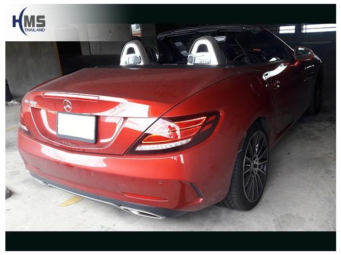 20180904 Mercedes Benz SLC300_R173_back