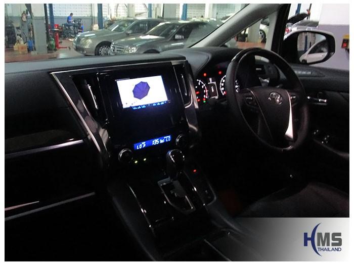 20161013 Toyota Alphard_2DIN_Pioneer_5850