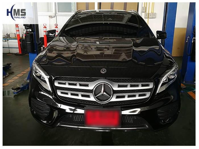 20180601 Mercedes Benz GLA250_W156_front,ติดตั้งกล้องติดรถยนต์ บน Mercedes Benz GLA250