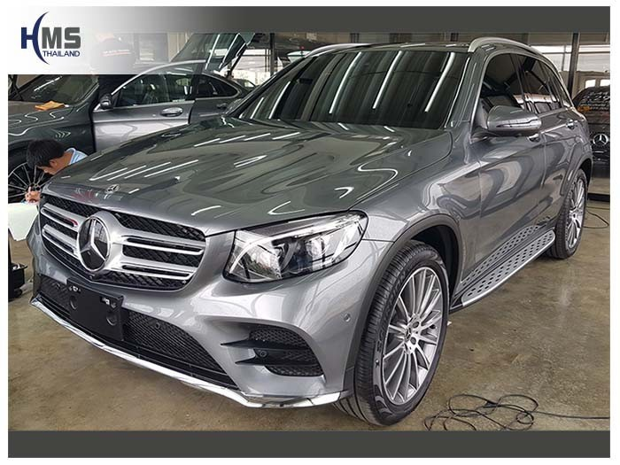 20180626 Mercedes Benz GLC250d_W253_front,ติดกล้องติดรถยนต์ บน Mercedes Benz GLC250d