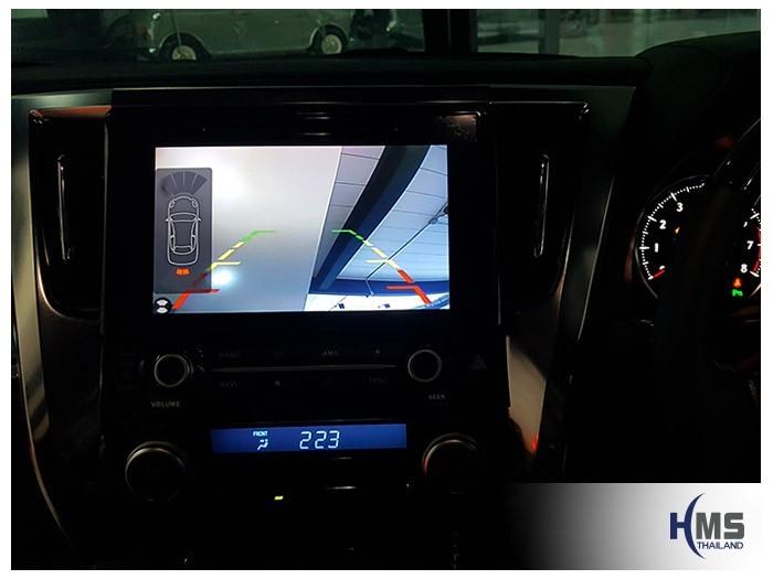 20180523 Toyota Alphard_Rear camera_View