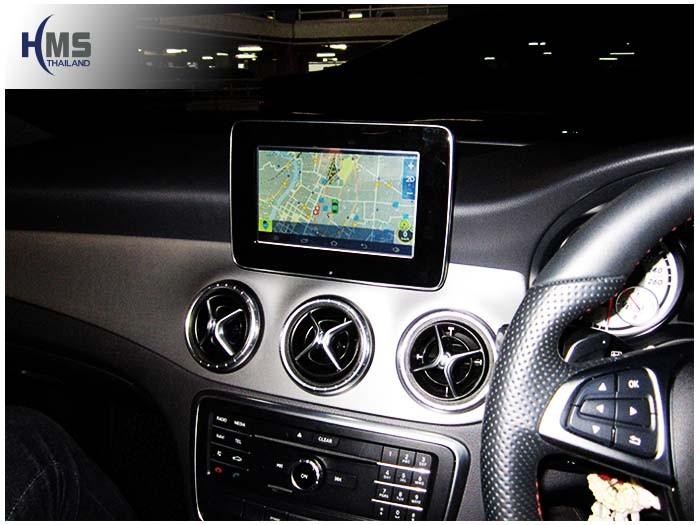 Mercedes Benz CLA250 C117(Navigation Box+Andy+Hooddue)