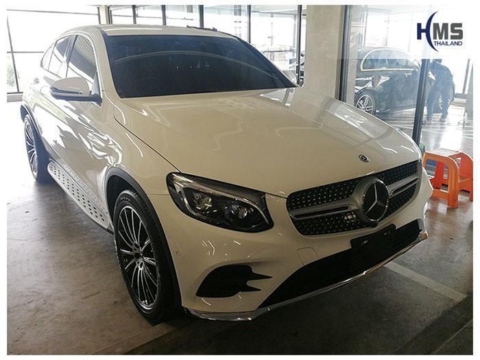 20180816 Mercedes Benz GLC250_Coupe_W253_front,ติดกล้องติดรถยนต์บนรถ Mercedes Benz GLC250 Coupe W253