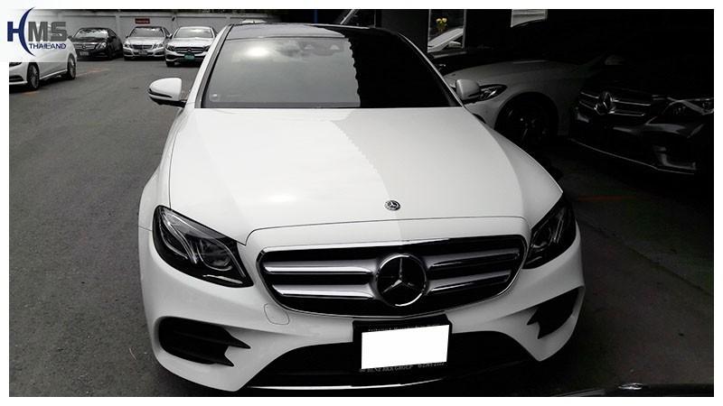 20181212 Mercedes Benz E350e_W213_front,ติดกล้องติดรถยนต์บน Mercedes Benz E350e W213