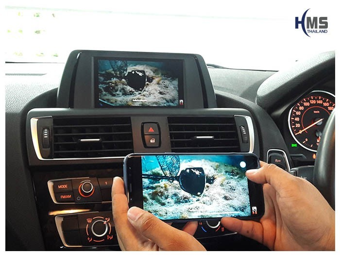 20180620 BMW 118i_F20_Wifi box_Movie,carplay , android auto, screen mirroring, ภาพมือถือขึ้นจอรถยนต์ , Screen mirror, mirror link, car wifi display, car wifi ,