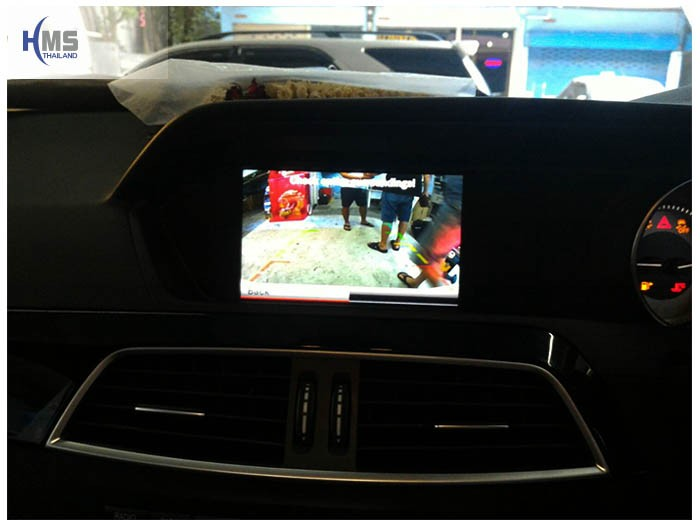 20161206 Benz C250 W204 Rear Camera View