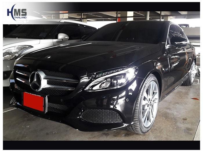 20180804 Mercedes Benz C350e_W205_front,ติดกล้องติดรถยนต์ บน Mercedes Benz C350e โดย HMS Thailand