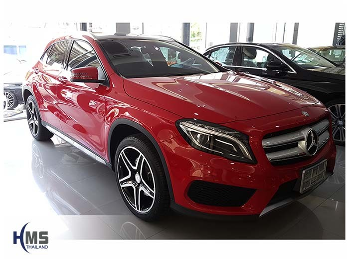 20170809 Mercedes Benz GLA200_X156_front_Right