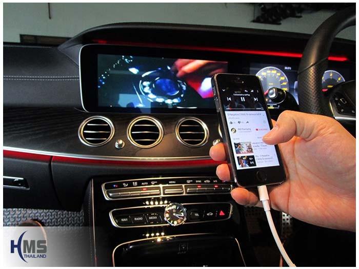 20170110 Benz E220d_W213_digitaltv_iphone av adaptork_View_Air playl_Youtube