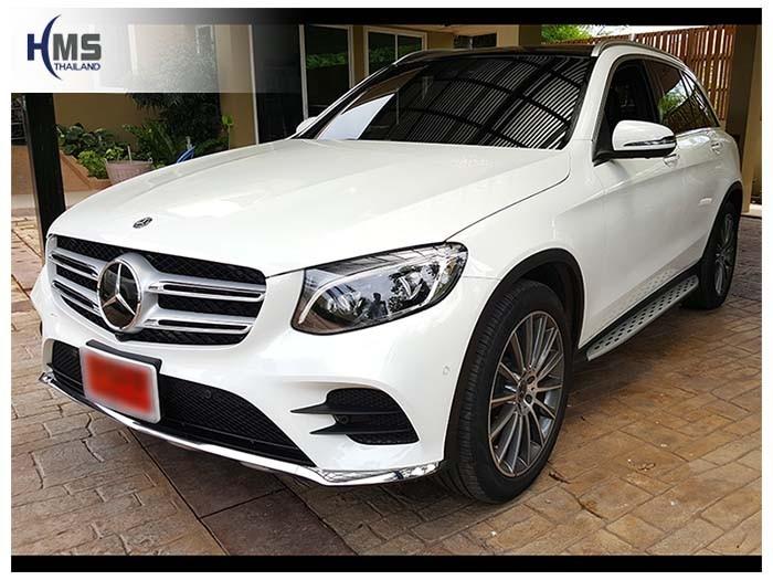 20180608 Mercedes Benz GLC250d_W253_front,ติดตั้งกล้องติดรถยนต์ บน Mercedes Benz GLC250d