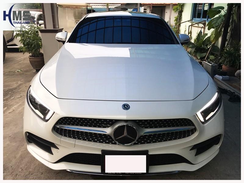 20180712 Mercedes Benz CLS300d W218_front,ติดทีวีดิจิตอลบน Mercedes Benz CLS300d W218
