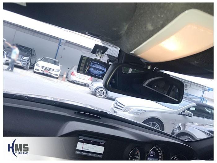 20180531 Mercedes Benz C200_W204_DVR_Thinkware_X330,ติดตั้งกล้องหน้ารถ
