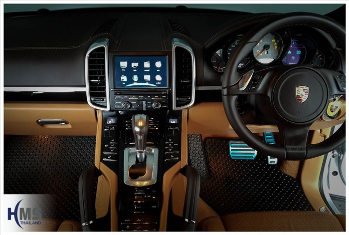 ติด TV porsche,porsche cayenne S ติดทีวี,Porsche,ปอร์เช่, 911, 997,Carrera,Porsche  GT3,Porsche  Targa,Porsche Cayenne,Porsche Hybrid,Porsche ราคา