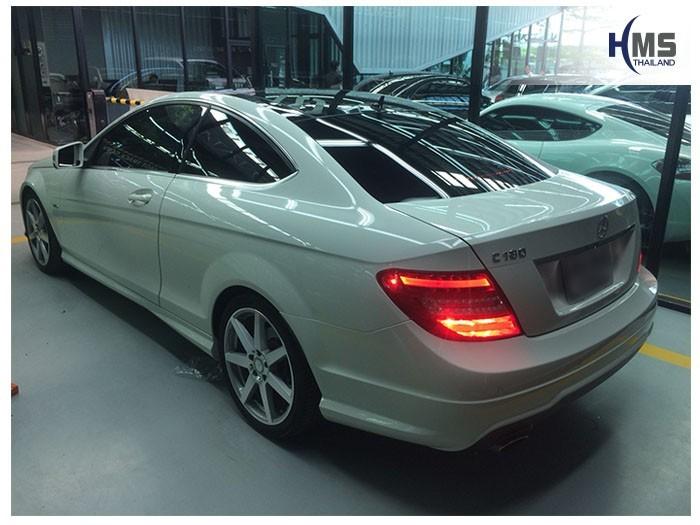 20180907 Mercedes Benz C180 W204_back,ภาพท้ายรถ Mercedes Benz C180 W204