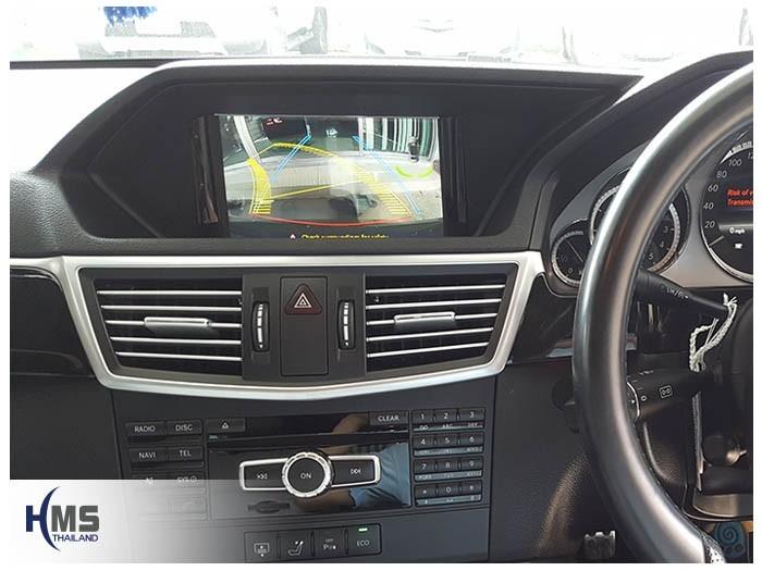 20171107 Mercedes Benz E250_W212_Rear camera_View