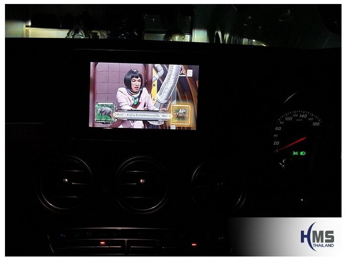 20180810 Mercedes Benz C350e W205_TV Digital_ASUKA_HR600_TV,TV Digital, ทีวีดิจิตอล, ดิจิตอลทีวี, ทีวีติดรถยนต์, TV ติดรถยนต์, ทีวีในรถ , ทีวีรถยนต์, Digital TV,ทีวี